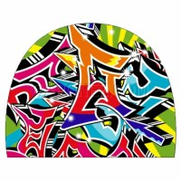 Turbo Swim Cap PBT Graffiti 974262