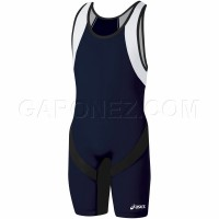Asics Wrestling Suit Take Down Navy JT600-5090