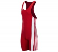 Adidas Wrestling Wrestler Suit (Clubline) Red Color 055395