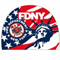 Turbo Gorra de baño PBT Fire Dept Nueva York 974534