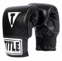 Title Boxing Bag Gloves Pro TBG