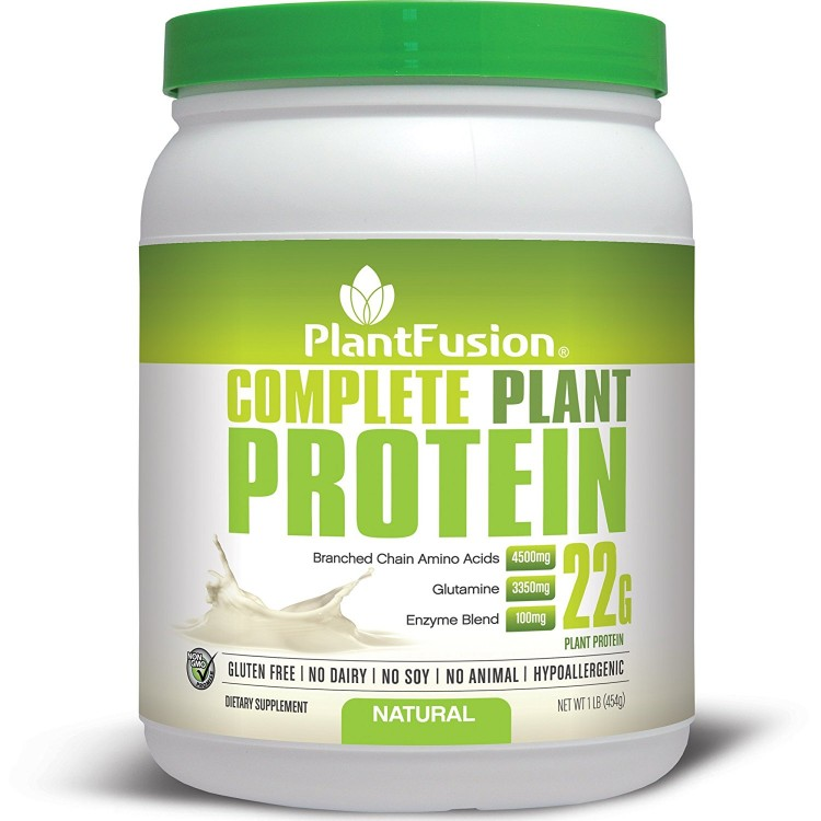 PlantFusion Протеин Multi-Source Без Вкуса 1lb (454g) PLF-00193