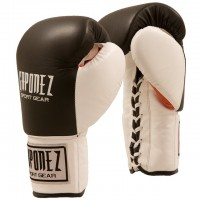 Gaponez Boxing Gloves Fight Pro GBFG BK/WH/RD