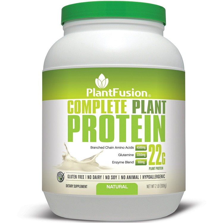 PlantFusion Протеин Multi-Source Без Вкуса 2lb (908g) PLF-00198