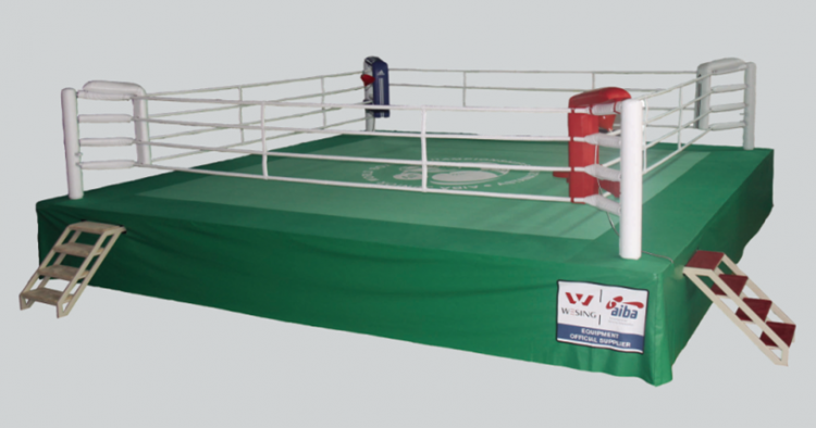 Wesing Boxing Ring 7.8x7.8x1m AIBA 2307A1