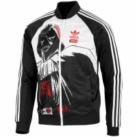 Adidas Originals Ветровка Star Wars Superstar Track Top Darth Vader P99576
