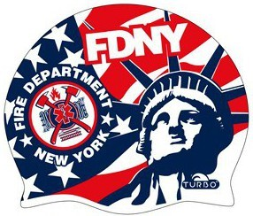 Turbo Шапочка для Плавания NYFD New York Fire Department 9701732