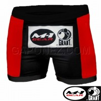 Grant M-1 MMA Fight Shorts Vale Tudo White Color GM1SVTW