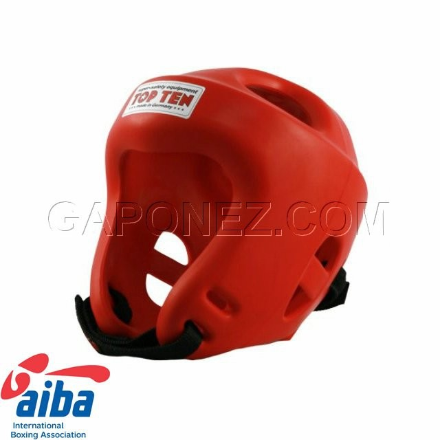 ​Top Ten Boxing Head Guard Fight AIBA Red Colour 4060-4