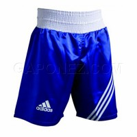 Adidas Boxing Shorts Multi (02) Blue Color ADISMB02 BL/WH