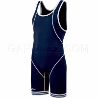 Asics Wrestling Suit Snap Down Navy JT1151-5001