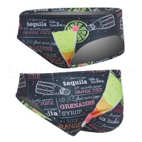 Turbo Water Polo Swimsuit Tequila Sunrise 730310
