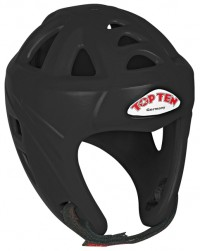 Top Ten Boxing Head Guard Avantgarde Black Colour 4066-9