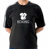 Adidas Tee Boxing Short Sleeve Black Color ADITSH02B