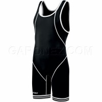 Asics Wrestling Suit Snap Down Black JT1151-9001
