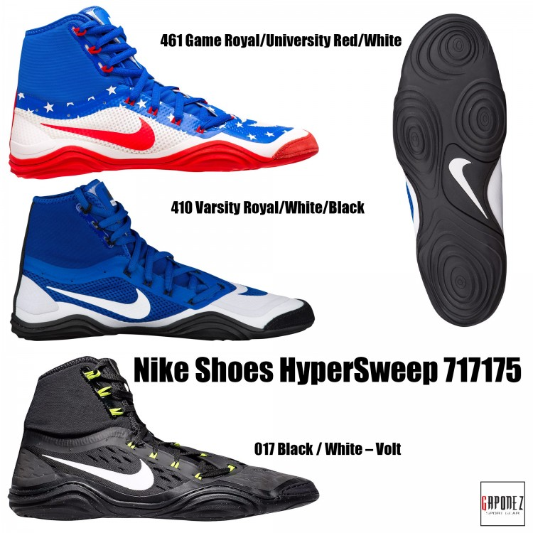7c221bba90b Nike Wrestling Shoes HyperSweep 717175 from Gaponez Sport Gear