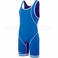 Asics Wrestling Suit Snap Down Blue JT1151-4301