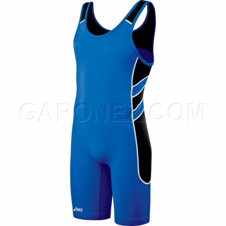 Asics Wrestling Suit Unrestrained Blue JT1152-4390