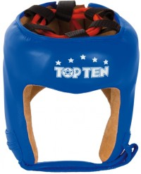 Top Ten Casco de Boxeo Color Azul 4068-6