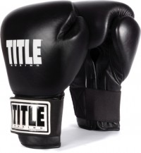 Title Boxing Gloves Eternal Pro TETGV BK