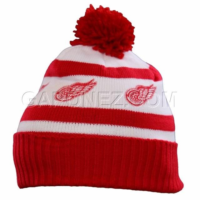 official photos 7be78 89fdb CCM Хоккей Одежда Шапка Зимняя NHL Detroit Red Wings H459963008