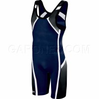 Asics Wrestling Suit Conquest Navy JT1153-50