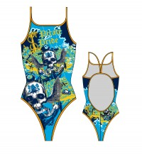 Turbo Swimming Swimsuit Womens Pirate Pride 898332-0066