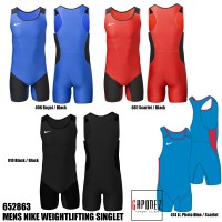Nike Weightlifting Singlet Mens 652863