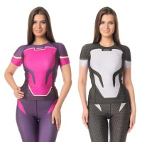 Ishi Top SS Rash Guard Compression CyberPunk ISSY