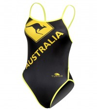 Turbo Swimming Swimsuit Womens Australia 891872