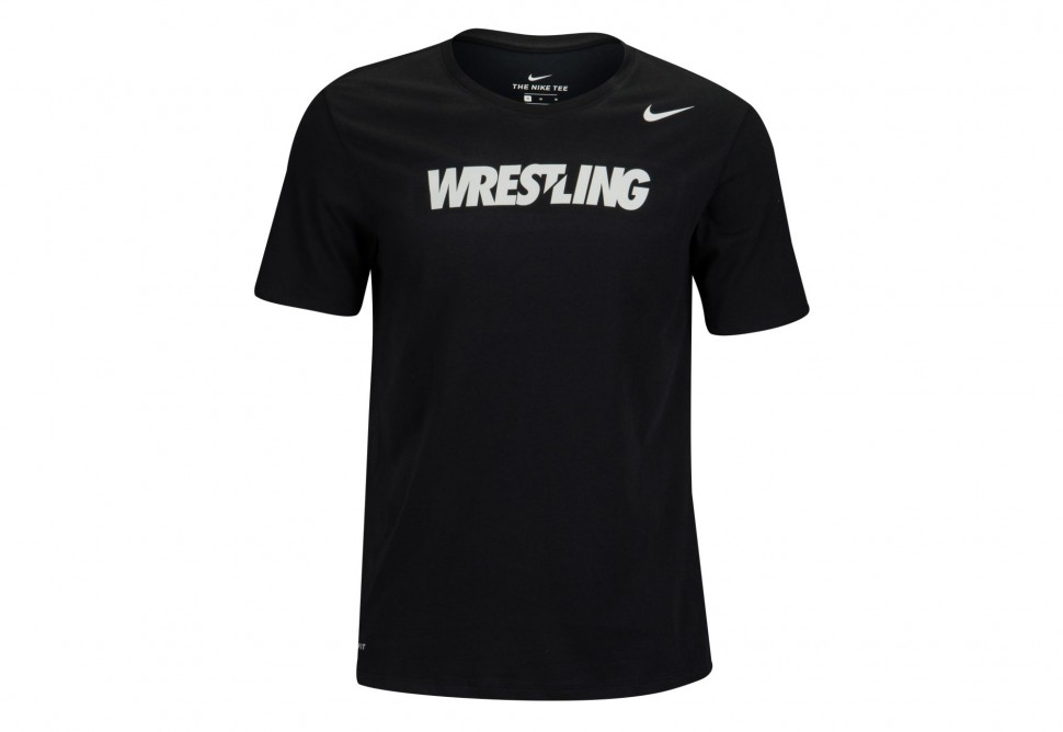 0c6439543 Nike T-Shirt SS Wrestling NTSW 706625 Top with Short Sleeve from ...