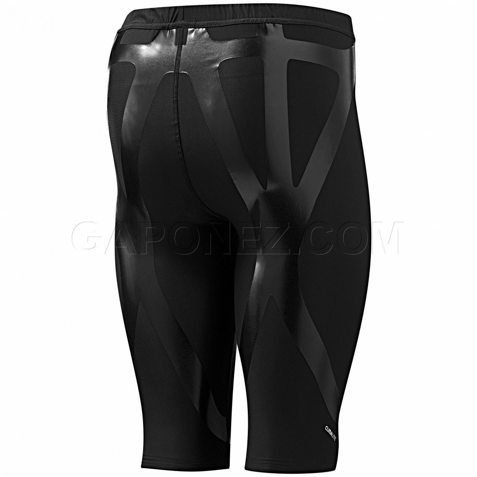 Ataque de nervios Regaño Pirata  Adidas Tights Short TechFit Powerweb Black Color P92410 (Size: XS-2XL)  Men's Apparel from Gaponez Sport Gear