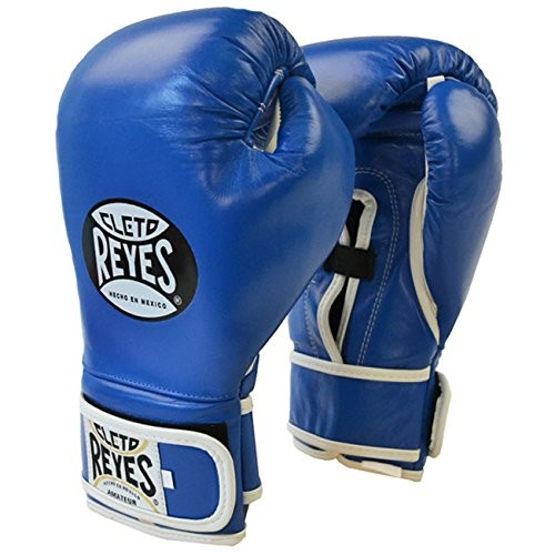 Cleto Reyes Boxing Gloves Amateur Red and Blue Color B910 from