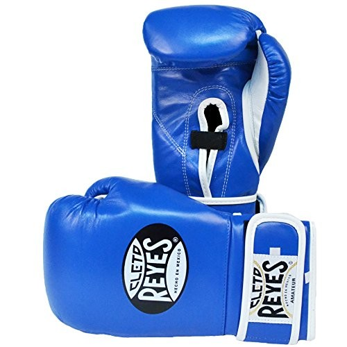Cleto Reyes Boxing Gloves Amateur Red and Blue Color B910