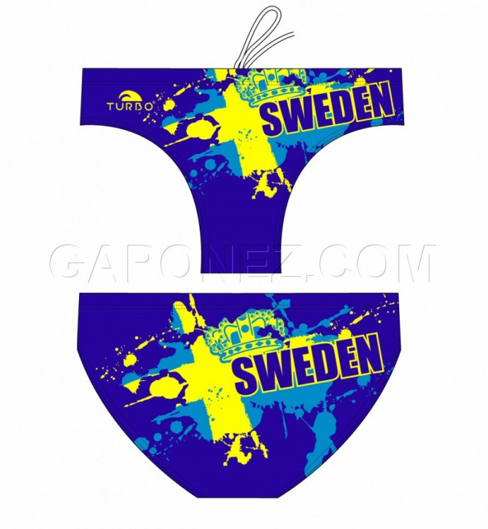 Turbo Water Polo Swimsuit Sweden 79575-0006
