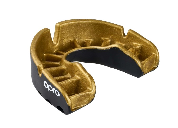 Opro Mouthguard Single Row Gold Gen4 Self-Fit adiBP35