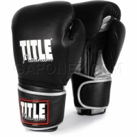 Title Boxing Bag Gloves Platinum Paramount PPBG