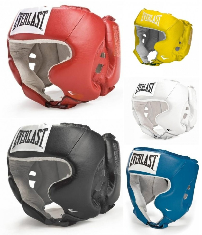 State-of-The-Art Quality STALLION NEW YORK All Pro Boxing Headgear Superior Jaw Protection Superior Protective Boxing Headgear Genuine Leather Boxing Headguard