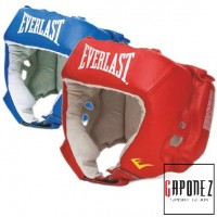 Everlast Boxing Headgear Amateur Competition with Open Face EVAH