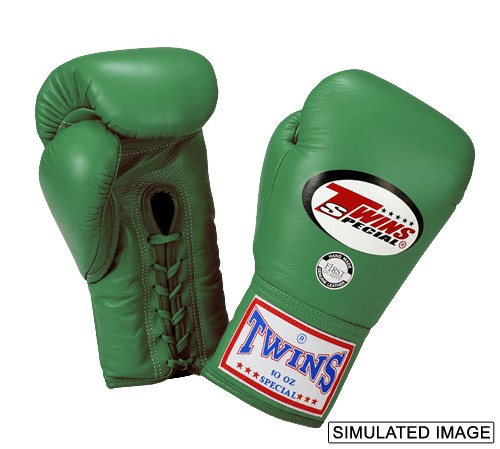 Twins Boxing Gloves Fight Pro Lace-Up BGLL-1