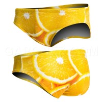 Turbo Water Polo Swimsuit Orange 730098
