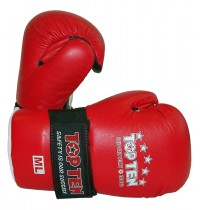 Top Ten MMA Gloves Open Hand Superfight 3000 Red Color 2051-4