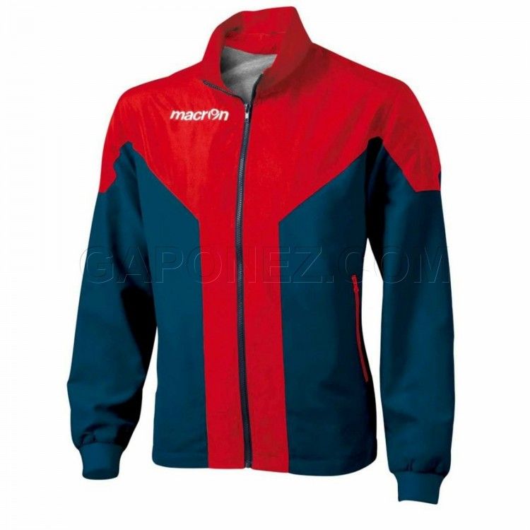 Macron Track Top Tanatos Navy/Red Color 81110702