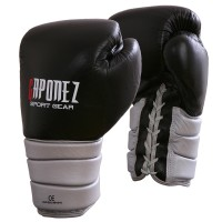 Gaponez Boxing Gloves Platinum Lace-Up GTGP
