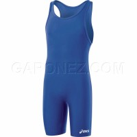 Asics Wrestling Suit Solid Modified Blue JT200-43