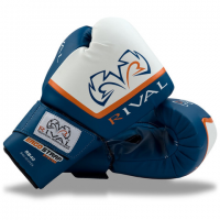 Rival Boxing Bag Gloves Fitness Colour Blue RB40 BL