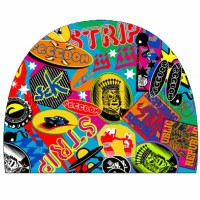Turbo Swim Cap PBT Stickers 974439