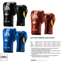 Everlast Boxing Gloves Training Elite Lace-Up EBGL