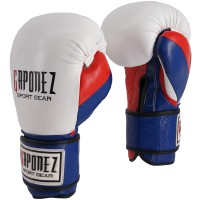 Gaponez Boxing Gloves 3-Tone GBGR