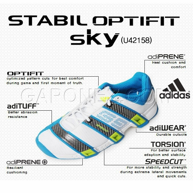 Adidas Handball Shoes Stabil Optifit U42158